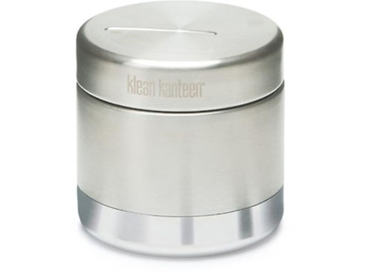 Klean Kanteen 真空断熱ステンレス食品 CanisterDescription: Klean Kanteen 家族に新たに加わった!これらのかわいい、便利なラウンドの高気密ステンレス鋼の真空断熱容器があるふたを密閉の容器にはネジという。彼らは 2 つのサイズ入って来: 236 ml/8 オンスと 473 ml/16 オンス。偉大な移動する厄介な暖かい快適な食品を包装またはテイクアウトをロードおよび一括準備風袋タグで簡単にチェック アウト。  リークを防ぐためにシリコン シール蓋機能。オール ステンレス鋼のインテリア。離乳食、スープ、サラダ ドレッシング、ディップ、ヨーグルト、アップル ソース、フルーツ、スナックより多くのために素晴らしい。ホットに内容が、4 時間または 12 時間までの寒さに続けます。