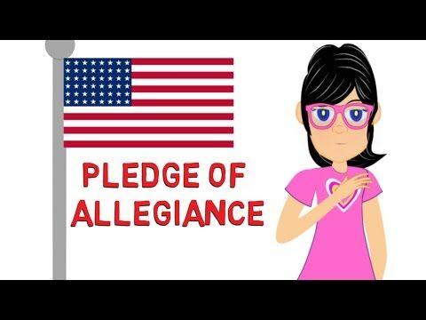 Pledge of Allegiance: Watch a cartoon for kids on the Pledge of Allegiance to the Flag - YouTube