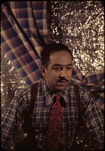 The Langston Hughes Papers contain letters, manuscripts, personal items, photographs, clippings, artworks, and objects that document the life of the well-known African-American poet. Currently, only a portion of these papers are available online.