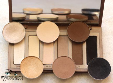 MAC Dupes for Urban Decay's Naked Basics Palette (vs MAC, N1, N2) :: My Eyeshadow Consultant