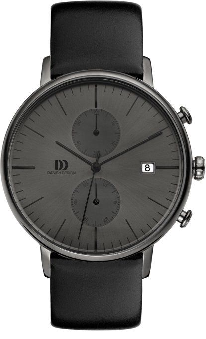 Danish Design Herren-Guarda IQ16Q975 analogico al quarzo in pelle IQ16Q975