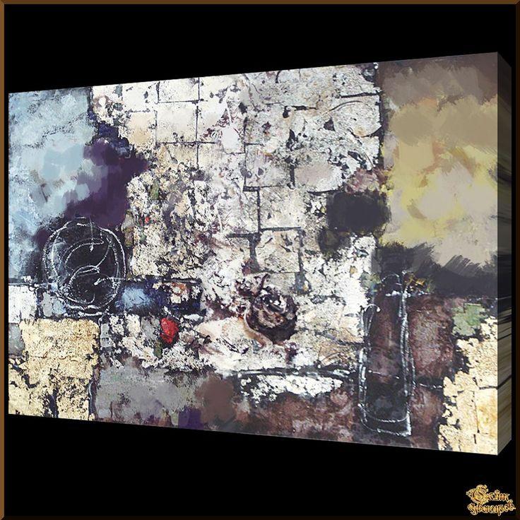 Abstract - 557 Абстракция, картины, картина маслом, сувенир, подарки