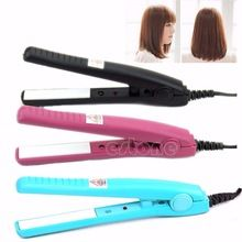 U118 Mini íon cerâmica alisadores de cabelo eletrônico 2 em 1 ferramentas de estilo de ferros de alisamento ferros modelador profissional alishoppbrasil