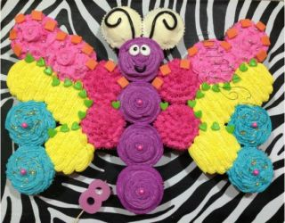 Best 25+ Butterfly cupcake cake ideas on Pinterest | Butterfly ...