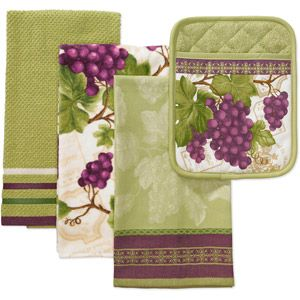 best better homes and gardens towels. Better Homes and Gardens 4 Piece Kitchen Towel Pot Holder Set  Grapes 14 best Decor Grape Towels images on Pinterest