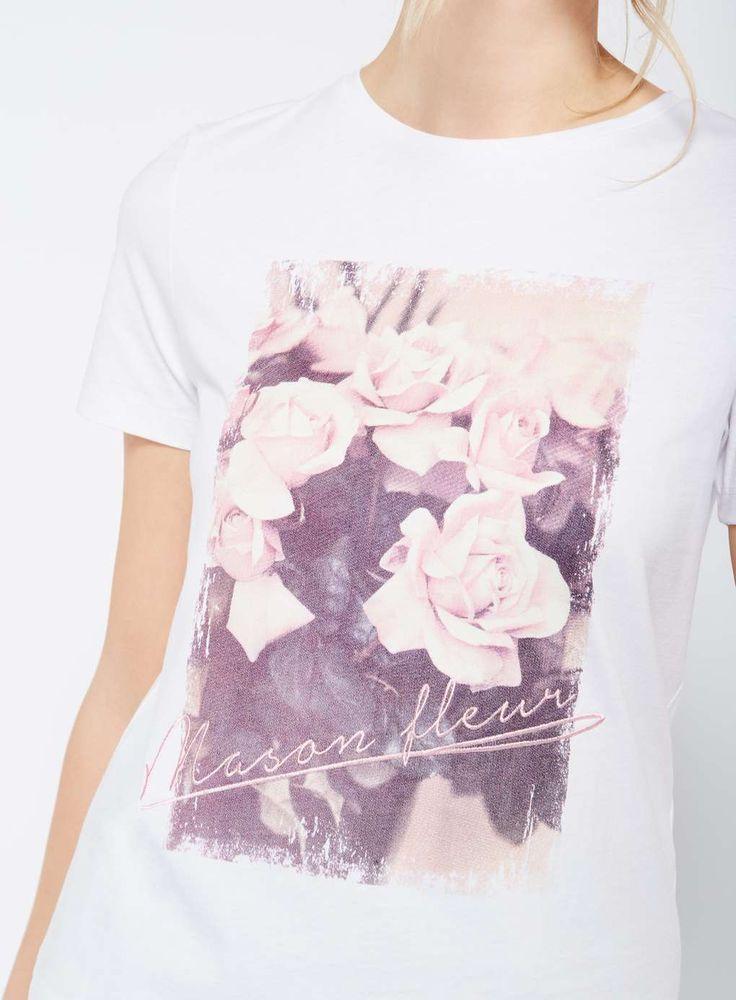 White Maison Fleur T-Shirt