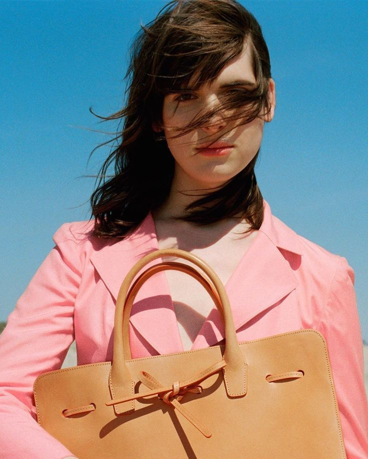 Hari Nef stars in Mansur Gavriel's fall-winter 2016 campaign