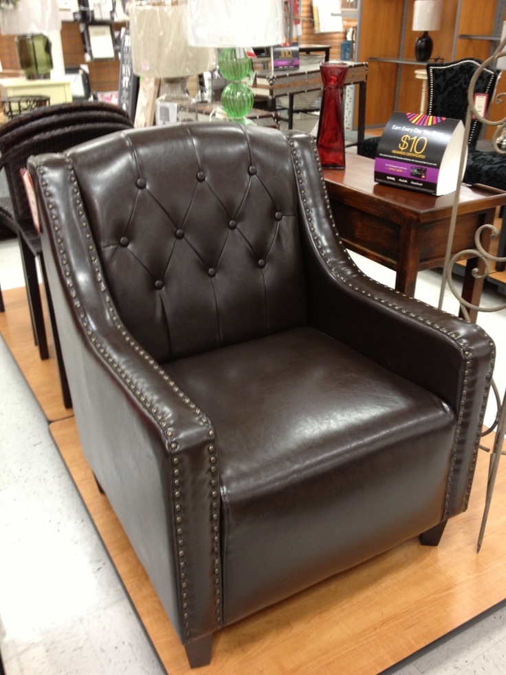 Brown Tufted Chair   TJ Maxx
