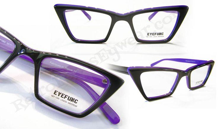 Square Cat Eye Frames France | Retro Focus Eyewear