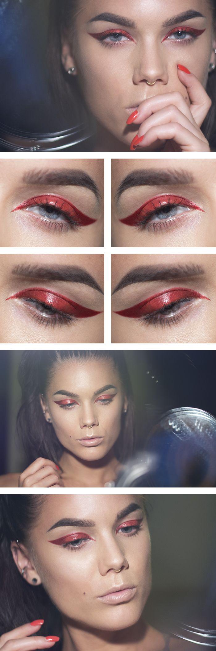 The 25+ best Devil makeup ideas on Pinterest | Fire makeup ...