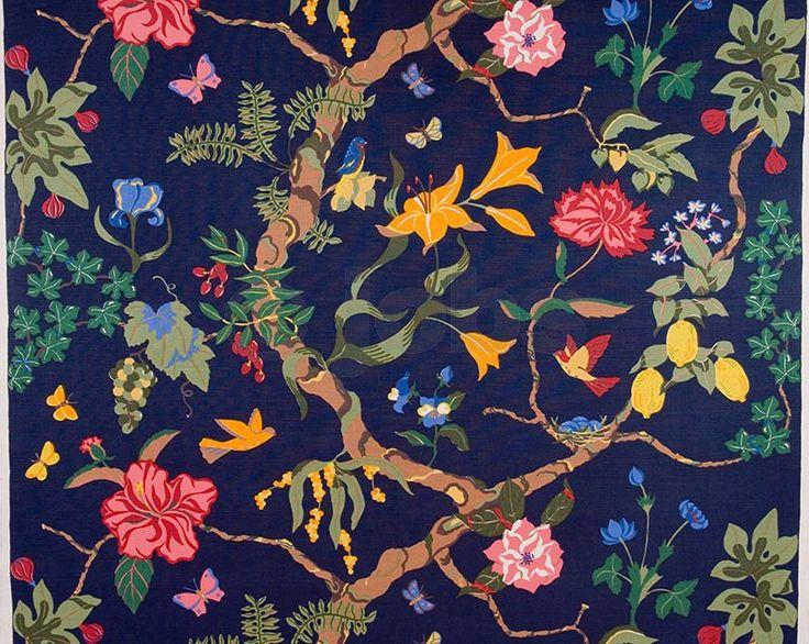 Paradisträd (dark blue)  - Cecilia Hall (1997) http://www.jobshandtryck.se