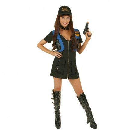 Womens ATF Police Costume
