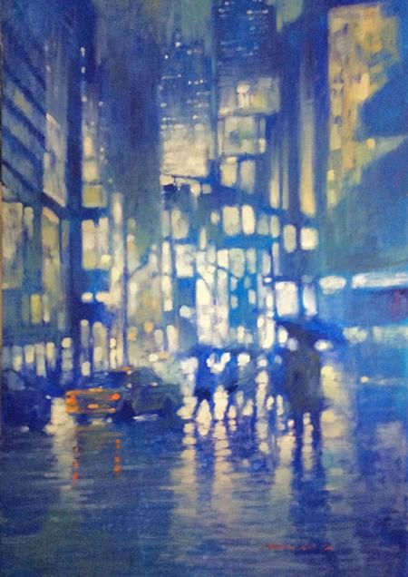 Manyung Gallery Group David  Hinchliffe Broadway
