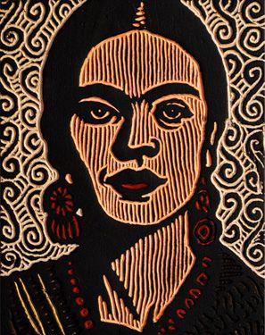 beautiful frida kahlo art