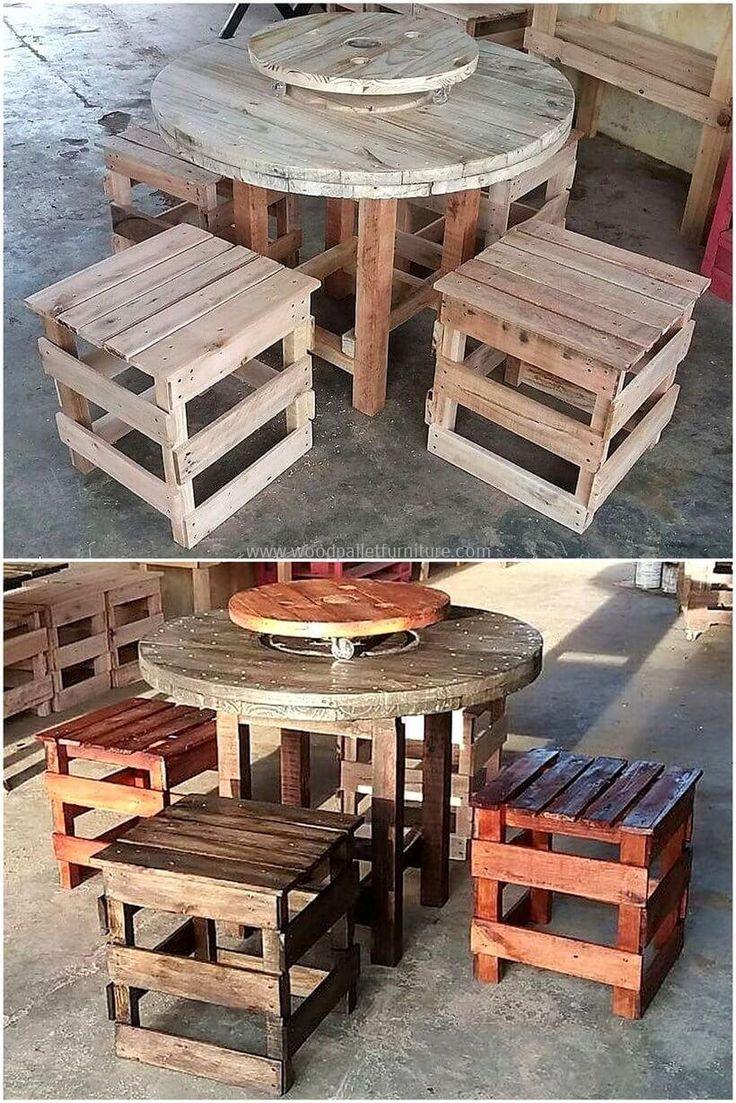 Mejores 7740 Im Genes De Pallet Furniture En Pinterest Pallet  # Muebles Easy Rosario