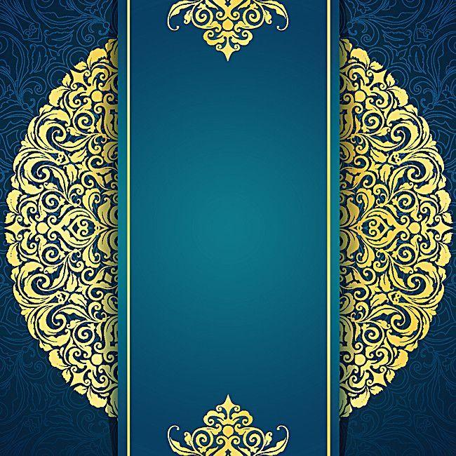 Continental Gold Einladung Hintergrundmaterial Vertikale