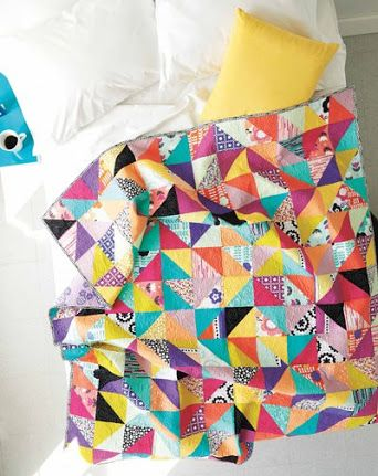 454 best images about quilts n shizzle on Pinterest Triangle quilts, Quilt designs and Quilt