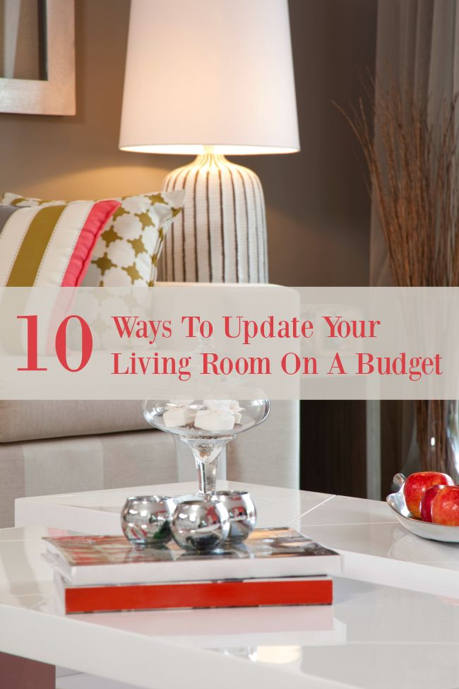 10 ways to update your living room on a budget colors the o 39 jays