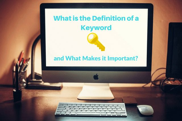 If you're a new blogger, one of the first topics you must understand is the importance of keywords. Let's first agree on what is the definition of a keyword