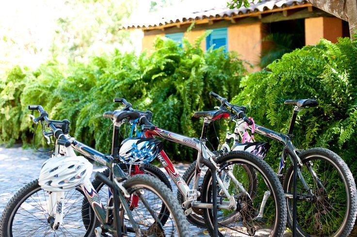Mountain bikes at the Casitas
