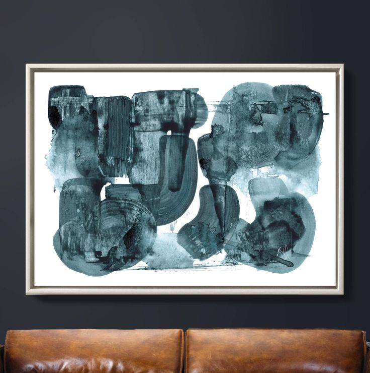 living room art prints%0A Printable Abstract Art  Oversize Art    x   inches  Navy Blue and White Art      Living Room