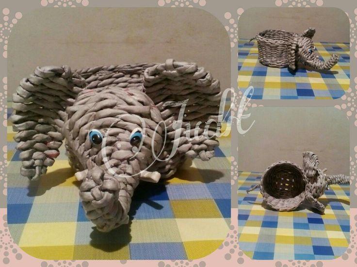 Elefánt kaspó