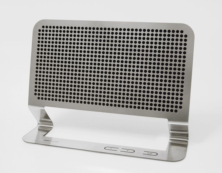 flat boombox by Hannes Harms