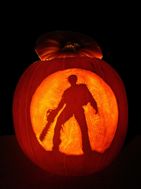 113 best hail to the king baby images on pinterest Awesome pumpkin designs