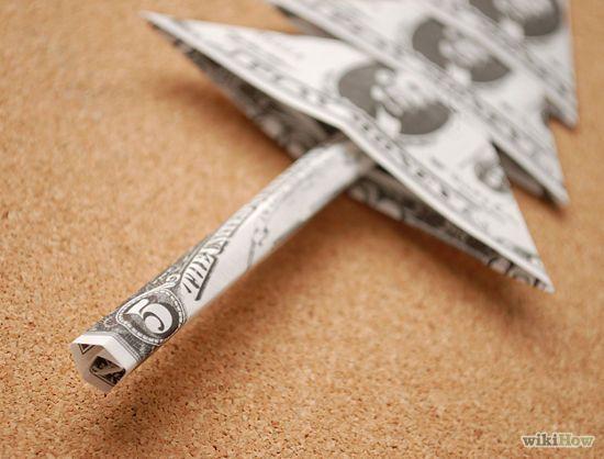 Fold Money For A Money Tree