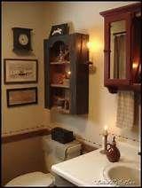 Best 25+ Primitive cabinets ideas on Pinterest | Hanging bathroom ...