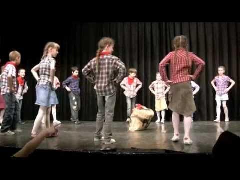 Cowboy tánc -Cotton eye joe - YouTube