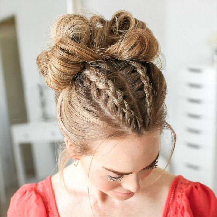 Fishtail Braid Low Bun Missy Sue In 2020 Hair Styles Braided Hairstyles Hairstyle