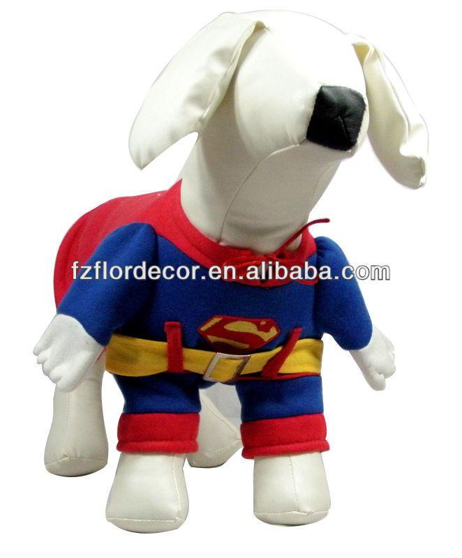 Pet de navidad de otoño e invierno de superman estéreo apariencia cfs6-1 ropa
