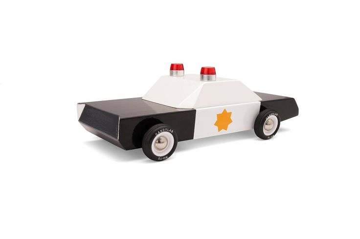 Candylab Toys - Police Cruiser car - coming soon - Scout & Co