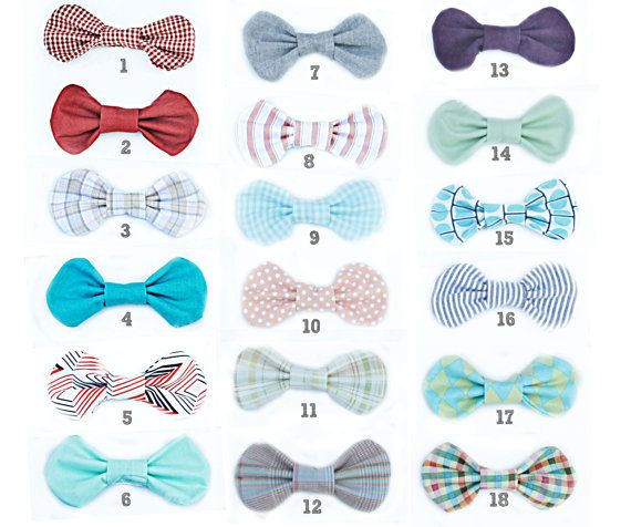 velcro bow tie for baby boy!