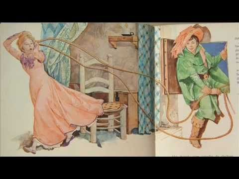 Raponsje - Sprookje van De gebroeders Grimm met plaatjes