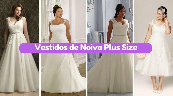 10+ Vestidos Noiva para Gordinhas