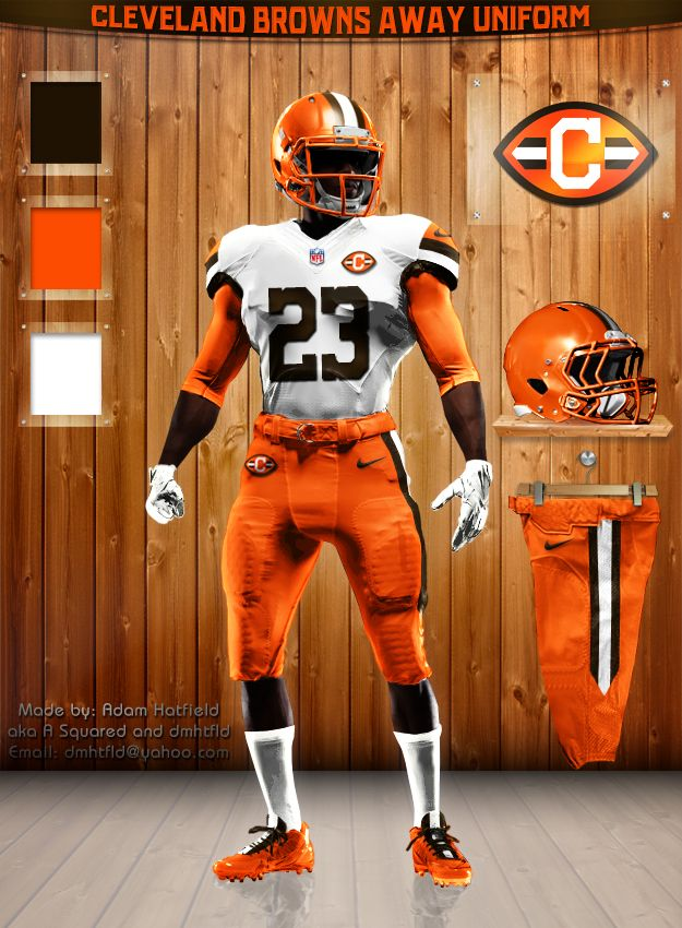 Cleveland Browns away uni