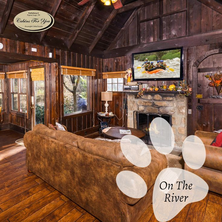 Offering Beautiful Honeymoon Cabins In Gatlinburg TN Such As On The River.  Reserve Any Of Our River Cabins Online Or Call