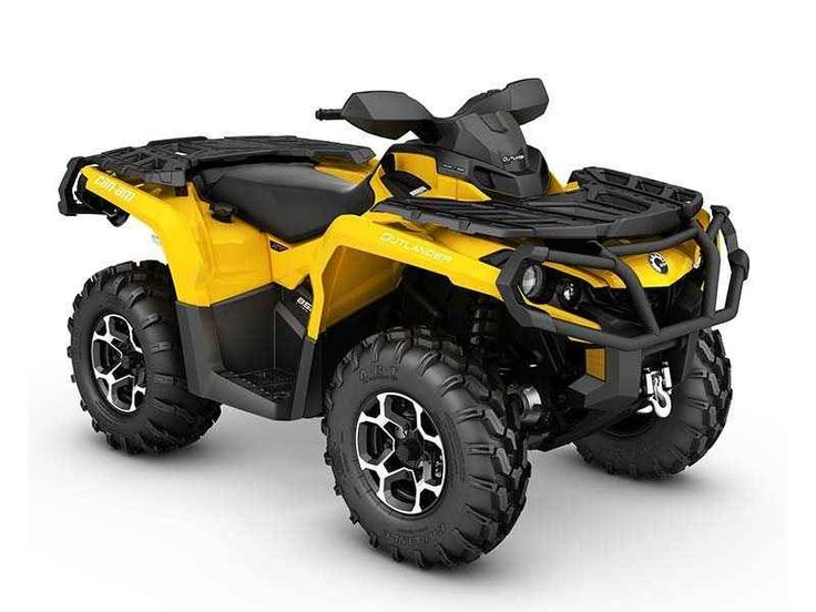 New 2016 Can-Am Outlander™ XT™ 850 ATVs For Sale in Colorado. Expand your off-road capabilities with added features – and added value. Get equipped with Tri-Mode Dynamic Power Steering (DPS), a 3,000-lb winch, and heavy-duty front and rear bumpers.