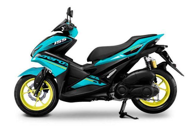 Yamaha Thailand Launching Warna Baru Aerox 155 Warnanya Ngejreeng