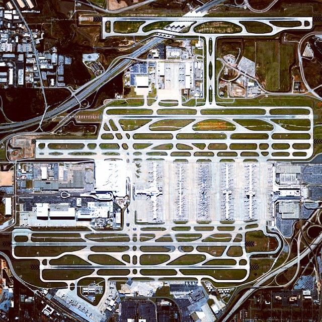 Hartsfield–Jackson International Airport in Atlanta, Georgia is the busiest airport in the world - both by total passengers and number of flights. In 2012, ATL accommodated 95 million passengers (more than 260,000 daily) and 950,119 flights.