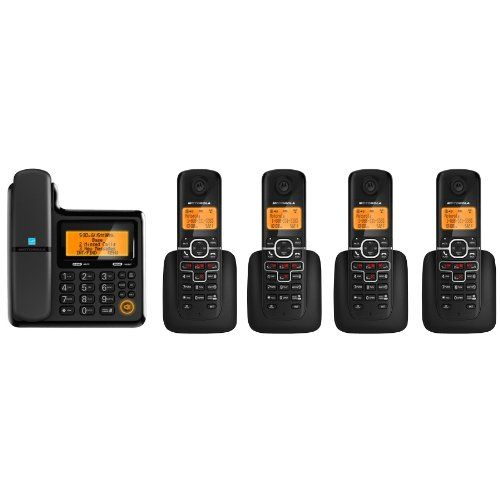 Motorola L705CM Corded/Cordless Phone System with 4 Cordless Handsets  //Price: $ & FREE Shipping //    #office #officelife #officeview #officeworks #myoffice #officegirl #officetime #officework