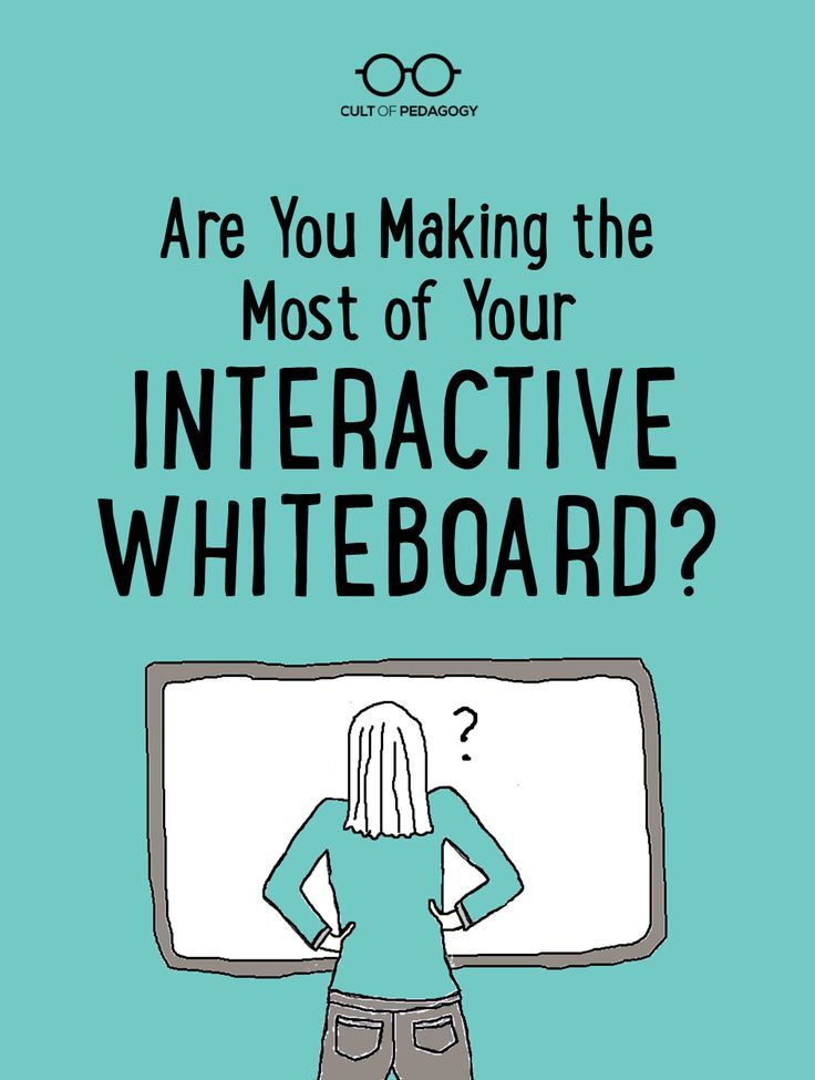 Are You Making the Most of Your Interactive Whiteboard?   - Interactive whiteboards are a fixture in many classrooms, but are teachers taking advantage of all they have to offer? Here are some ways to improve your use.