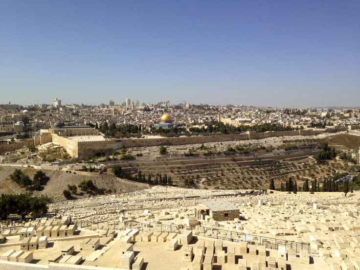 The Mount of Olives. Jerusalem. Photo: Ida-Liina Huurtela