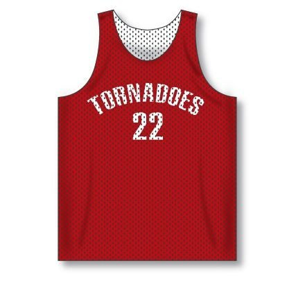 Reversible Basketball Jersey  - its like having two jerseys for the price of one! Double awesome!