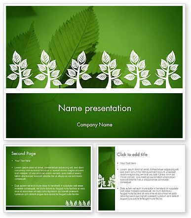 Tree Leaves PowerPoint Template PowerPoint Templates Powerpoint