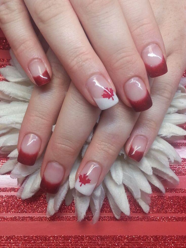 Day 182: Canada Day Nail Art - nailsmag.com