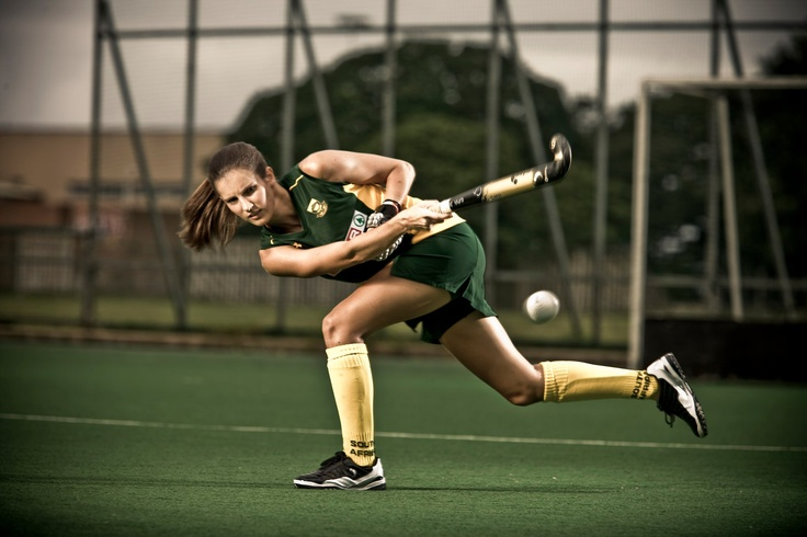 South African Hockey star Kelly Madsen