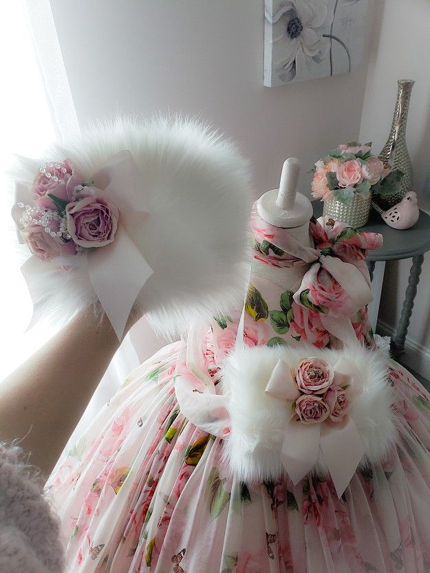 6f678b48e Rosy Gown | sukneles | Gowns, Gowns for girls, Kids frocks